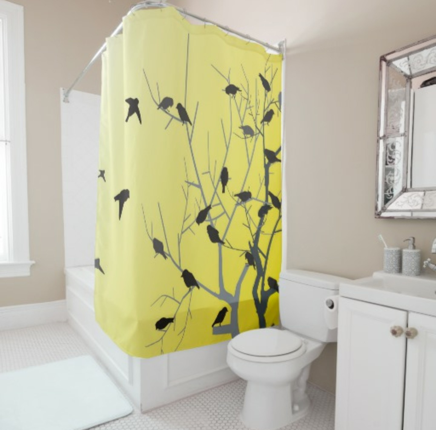 print x superb bird curtain part curtains com churchtelemessagingsystem shower amazing botanical